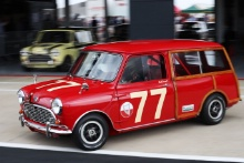 Silverstone Classic 201977 BURNETT Mark, GB, Austin Mini CountrymanAt the Home of British Motorsport. 26-28 July 2019Free for editorial use only Photo credit – JEP