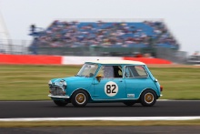 Silverstone Classic 201982 DEATH Harvey, GB, Austin Mini Cooper SAt the Home of British Motorsport. 26-28 July 2019Free for editorial use only Photo credit – JEP