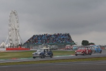 Silverstone Classic 201984 JONES Steve, GB, Morris Mini Cooper SAt the Home of British Motorsport. 26-28 July 2019Free for editorial use only Photo credit – JEP