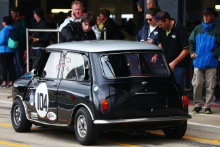 Silverstone Classic 2019104 JAMES Peter, GB, SNOWDON Chris, GB, Morris Mini Cooper SAt the Home of British Motorsport. 26-28 July 2019Free for editorial use only Photo credit – JEP
