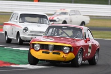 Silverstone Classic 2019Olivier HART Alfa Romeo Giulia Sprint GTAAt the Home of British Motorsport. 26-28 July 2019Free for editorial use only Photo credit – JEP