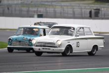 Silverstone Classic 2019Andy WOLFE Ford Lotus CortinaAt the Home of British Motorsport. 26-28 July 2019Free for editorial use only Photo credit – JEP