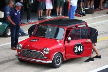 Silverstone Classic 2019244 BELL Tom, GB, Austin Mini Cooper SAt the Home of British Motorsport. 26-28 July 2019Free for editorial use only Photo credit – JEP