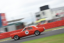 Silverstone Classic 2019Colin SOWTER Ford MustangAt the Home of British Motorsport. 26-28 July 2019Free for editorial use only Photo credit – JEP
