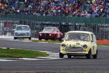 Silverstone Classic 201928 LOW Raymond, GB, HARRISON Andy, GB, Morris Mini Cooper SAt the Home of British Motorsport. 26-28 July 2019Free for editorial use only Photo credit – JEP