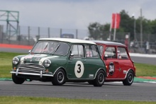 Silverstone Classic 20193 MIDDLEHURST Chris, GB, GB, Morris Mini Cooper SAt the Home of British Motorsport. 26-28 July 2019Free for editorial use only Photo credit – JEP