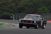 Silverstone Classic 2019EVANS / BRADSHAW Ford MustangAt the Home of British Motorsport. 26-28 July 2019Free for editorial use only Photo credit – JEP