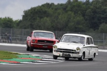 Silverstone Classic 20194 ATTARD Marco, GB, INGRAM Tom, GB, Ford Lotus CortinaAt the Home of British Motorsport. 26-28 July 2019Free for editorial use only Photo credit – JEP