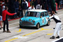 Silverstone Classic 201982 DEATH Harvey, GB, DEETH Rupert, GB, Austin Mini Cooper SAt the Home of British Motorsport. 26-28 July 2019Free for editorial use only Photo credit – JEP