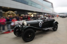 Silverstone Classic 201957 GALLIERS-PRATT Anthony, GB, BLAKENEY-EDWARDS Patrick, GB, Bentley 3/4½At the Home of British Motorsport. 26-28 July 2019Free for editorial use only Photo credit – JEP