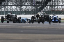 Silverstone Classic 20196 WARD Josh, GB, WARD Thomas, GB, Bentley 4½At the Home of British Motorsport. 26-28 July 2019Free for editorial use only Photo credit – JEP