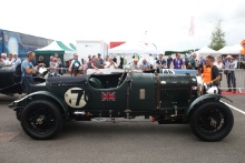 Silverstone Classic 2019Graham GOODWIN Bentley 4½ Le Mans RepAt the Home of British Motorsport. 26-28 July 2019Free for editorial use only Photo credit – JEP