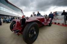 Silverstone Classic 201977 HALUSA Martin, AT, HALUSA Niklas, AT, Alfa Romeo 8C 2300 Zagato SpyderAt the Home of British Motorsport. 26-28 July 2019Free for editorial use only Photo credit – JEP