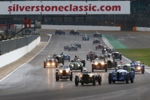Silverstone Classic 2019StartAt the Home of British Motorsport. 26-28 July 2019Free for editorial use only Photo credit – JEP