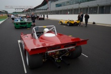 Silverstone Classic 2019N.HALUSA / L.HALUSA Alfa Romeo 33TT3At the Home of British Motorsport. 26-28 July 2019Free for editorial use onlyPhoto credit – JEP