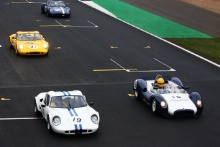 Silverstone Classic 201919 OWEN Andrew, GB, OWEN Mark, GB, Chevron B8At the Home of British Motorsport. 26-28 July 2019Free for editorial use onlyPhoto credit – JEP