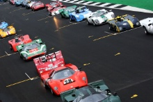 Silverstone Classic 2019GridAt the Home of British Motorsport. 26-28 July 2019Free for editorial use onlyPhoto credit – JEP