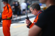 Silverstone Classic 2019MarshalAt the Home of British Motorsport. 26-28 July 2019Free for editorial use onlyPhoto credit – JEP