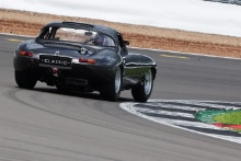 Silverstone Classic 2021 Martin Brundle and Alex Brundle - Jaguar E-Type.At the Home of British Motorsport. 30th July – 1st August Free for editorial use only