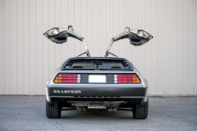 Silverstone Classic 2021 DeLorean.At the Home of British Motorsport. 30th July – 1st August Free for editorial use only