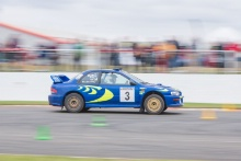 Silverstone Classic 2021 Subaru Impreza.At the Home of British Motorsport. 30th July – 1st August Free for editorial use only