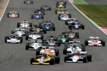 Silverstone Classic 2021 Formula One.At the Home of British Motorsport. 30th July – 1st August Free for editorial use only