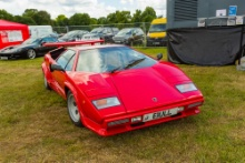 Silverstone Classic 2021 Lamborghini Countach.At the Home of British Motorsport. 30th July – 1st August Free for editorial use only