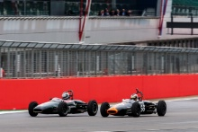 The Classic, Silverstone 2021 81 Richard Bradley / Brabham BT2 and 66 Cam Jackson / Brabham BT2At the Home of British Motorsport. 30th July – 1st August Free for editorial use only