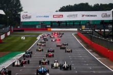 The Classic, Silverstone 2021 Race 2 StartAt the Home of British Motorsport. 30th July – 1st August Free for editorial use only