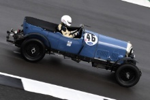 The Classic, Silverstone 2021 46 Duncan Wiltshire / Oliver Llewelyn - Bentley 3 LitreAt the Home of British Motorsport. 30th July – 1st August Free for editorial use only