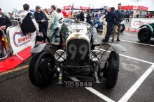 The Classic, Silverstone 2021 99 Ewen Getley / Robin Tuluie - Bentley 3/4½ At the Home of British Motorsport. 30th July – 1st August Free for editorial use only