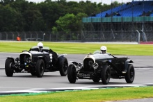 The Classic, Silverstone 202124 David  Ayre / Bentley 4/8 Litre - 99 Ewen Getley / Robin Tuluie - Bentley 3/4½ At the Home of British Motorsport.30th July – 1st AugustFree for editorial use only