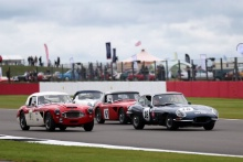 The Classic, Silverstone 2021 18 John Clark / Miles Griffiths - Jaguar E-type FHC At the Home of British Motorsport. 30th July – 1st August Free for editorial use only