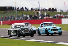 The Classic, Silverstone 2021 441 Theo Hunt / Mike Grant Peterkin - Austin-Healey 3000At the Home of British Motorsport. 30th July – 1st August Free for editorial use only