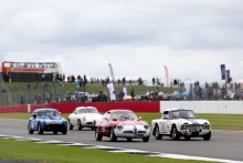 The Classic, Silverstone 2021 56 Sharon Adelman / Andy Willis  - Alfa Romeo Giulietta SZ At the Home of British Motorsport. 30th July – 1st August Free for editorial use only