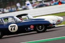 The Classic, Silverstone 2021 77 Guy Ziser / Oli Webb - Jaguar E-type FHC At the Home of British Motorsport. 30th July – 1st August Free for editorial use only
