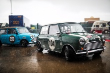 The Classic, Silverstone 2021 104 Chris Middlehurst / Morris Mini Cooper SAt the Home of British Motorsport. 30th July – 1st August Free for editorial use only