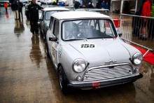The Classic, Silverstone 2021 155 Nathan Heathcote / Morris Mini Cooper SAt the Home of British Motorsport. 30th July – 1st August Free for editorial use only