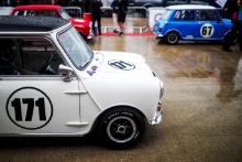 The Classic, Silverstone 2021 171 Lawrence Warr / Morris Mini Cooper SAt the Home of British Motorsport. 30th July – 1st August Free for editorial use only