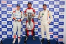The Classic, Silverstone 2021 Podium, Nathan Heathcote, Bill Sollis and Nathan Heathcote At the Home of British Motorsport. 30th July – 1st August Free for editorial use only