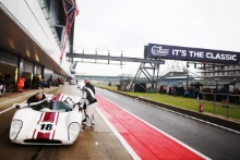 The Classic, Silverstone 2021 18 Mark Dwyer / Neil Glover - Lola T70 MK3B At the Home of British Motorsport. 30th July – 1st August Free for editorial use only