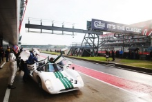 The Classic, Silverstone 2021 23 Gary Pearson / Alex Brundle - Lola T70 MK3B At the Home of British Motorsport. 30th July – 1st August Free for editorial use only