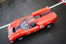 The Classic, Silverstone 2021 31 Rory Jack / Patrick Jack - Lola T70 MK3 At the Home of British Motorsport. 30th July – 1st August Free for editorial use only