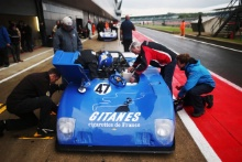 The Classic, Silverstone 2021 47 Nick Pink / Chris Fox - Lola T280 At the Home of British Motorsport. 30th July – 1st August Free for editorial use only