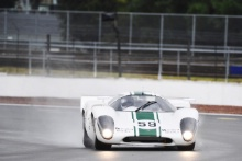 The Classic, Silverstone 2021 59 Robert Beebee / Steve Brooks - Lola T70 MK3B At the Home of British Motorsport. 30th July – 1st August Free for editorial use only