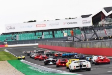 The Classic, Silverstone 2021 Start, Masters At the Home of British Motorsport. 30th July – 1st August Free for editorial use only