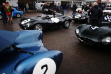 The Classic, Silverstone 2021 14 Martin Halusa / Lukas Halusa - Jaguar D-type At the Home of British Motorsport. 30th July – 1st August Free for editorial use only