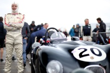 The Classic, Silverstone 2021 20 Rudiger Friedrichs / Jaguar C-type At the Home of British Motorsport. 30th July – 1st August Free for editorial use only