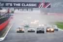 The Classic, Silverstone 2021Historic Touring Car Start -  22 Paul Mensley / Matthew Ellis - Ford Sierra Cosworth RS500 At the Home of British Motorsport.30th July – 1st AugustFree for editorial use only