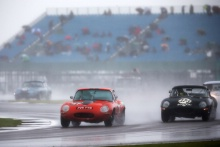 The Classic, Silverstone 2021 121 Grahame Bull / Alan Bull - Jaguar E-type At the Home of British Motorsport. 30th July – 1st August Free for editorial use only